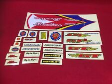 NOS VINTAGE GT JEREMY MCGRATH SHOWTIME SIGNATURE SERIES BMX STICKER SET RACING