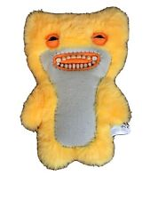Spin Master Fuggler Funny Ugly Monster w/Teeth Yellow / Orange Fuzzy Plush