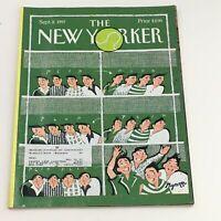 The New Yorker September 8 1997 Full Magazine Theme Cover by Lawrence Mynott