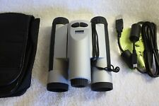 Meade Captureview 8x30 Binoculars with built in camera and SD slot 1.3 MP camera