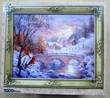NEW A 1000 PIECE JIGSAW PUZZLE BY NICKY BOEHME - WINTER SUNSET