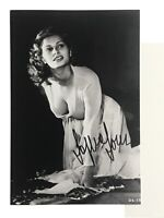 Sophia Loren Autographed Photo Signed Will Pass JSA Authentic