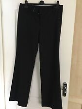 Ladies Tailored Black Trousers UK Size 14