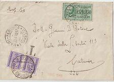ITALIA 1940 ESPRESSO DA BARI TASSATO A CATANIA