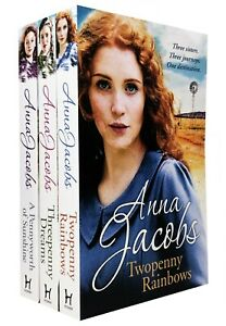 Anna Jacobs Michaels Family Series 3 Books Collection Set NEW COVER