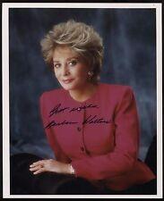 Barbara Walters Signed 8x10 Photo Autographed Vintage AUTO Signature