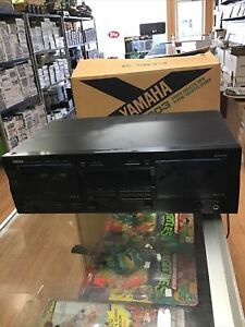 Yamaha K-903 Natural Sound Cassette Deck Tested And Working With Box