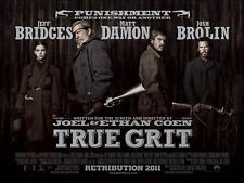 True Grit - Original D/S UK Quad Poster 40 x 30 inches Main Design Coen Brothers