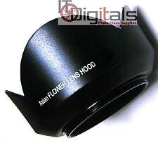 52mm Custom Made Metal Tele Photo Flower Shape Lens hood Sun Shade 52 mm