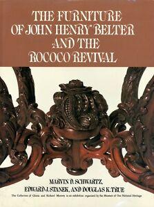 American John Henry Belter Victorian Furniture / Scarce In-Depth Scholarly Book