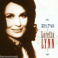 LORETTA LYNN ( NEW SEALED CD ) THE VERY BEST OF / GREATEST HITS
