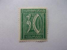 1922 German Deutsches Reich, 30pf, Green perf. - Mint Hinged