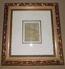 """CLAUDE MONET  """"LES PEUPLIERS""""  LITHOGRAPHIC REPRODUCTION IN COLOR ON PAPER  1906"""