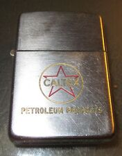 Vintage CALTEX TEXACO GAS OIL ZIPPO LIGHTER PAT. 2517191 Advertisment