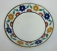 """Antique Petrus Regout Maastricht Holland PGO33 Floral 7.5"""" Bowl"""