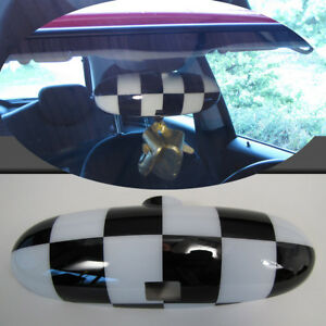 Interior Checkered Flag Suitable for Mini Cooper R50 R52 R53 With Folding Lever