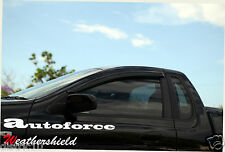 QUALITY FPV BA BF UTE WINDOW VISOR GUARD WEATHER SHIELD WEATHERSHIELD F6/TORNADO