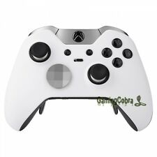 Soft Touch White Housing Shell Faceplate Parts for Xbox One Elite Controller