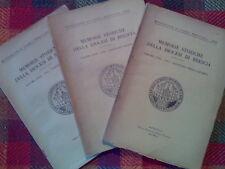 MEMORIE STORICHE DELLA DIOCESI DI BRESCIA - annata completa 1951  sotto i titoli