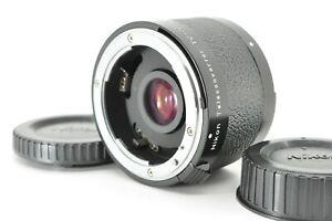 """ Exc +3 "" Nikon Teleconverter TC-201 2x for AI-S F Mount MF Ais Lens from Japan"