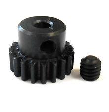 L619 Module 0.6 0.6M 19T 19 Teeth Tooth Motor Pinion Gear Black 540 3.17mm Bore