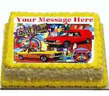 sandman holden 70s/80s advert Cake topper image icing FONDANT birthday, party