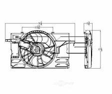 TYC 622090 Radiator And Condenser Fan Assy