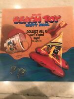 Vintage Collectible McDonald's Translite Sign Happy Meal Beach Toy 1990