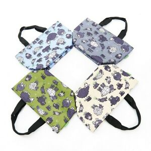 SHEEP PRINT COOL BAG INSULATED LUNCH BAG IN 4 COLOURS BY ECO CHIC