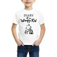 Wimpy Kid T-shirt World Book Day 2020 Support Diary Outfit Costume Gift Tops