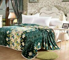 Modern Warm Blanket Bedspread Sofa Sheet Cover Soft Comfortable Blankets Printed