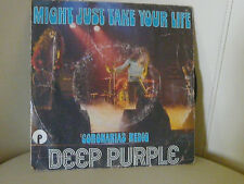 DISQUE 45 T DEEP PURPLE MIGHT JUST TAKE YOUR LIFE