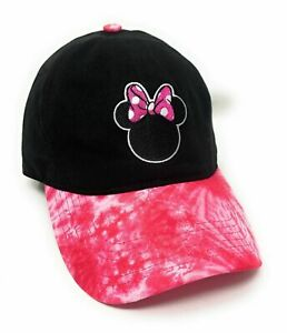 Disney Minnie Mouse Tie Dye Baseball Adjustable Cap Hat *New with Tags*