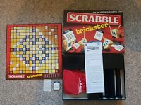 SCRABBLE TRICKSTER 2010 Family Board Game Mattel Complete Word Game Break Rules