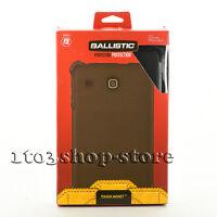 Ballistic Tough Jacket Shell Case w/Stand for Samsung Galaxy Tab E 8.0 (Black)