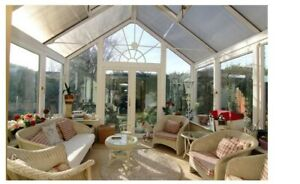 used upvc conservatory glass roof