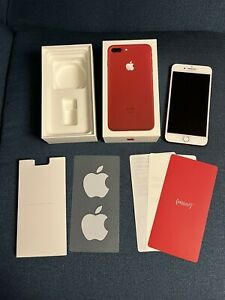 Apple iPhone 7 Plus (PRODUCT)RED - 128GB - (AT&T) A1784 (GSM) With Box