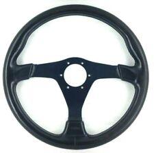 Genuine Nardi Gara 360mm black leather 3 spoke steering wheel. Classic     8A
