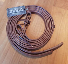 Schutz Brothers Western Heavy Oil Harness Leather Split Reins
