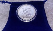 2018 Isle of Man 1 oz Silver Noble Proof Coin Low Mintage Sealed/Capsule/Pouch