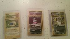 Pokemon Team Rocket Returns Mareep, Dark Flaaffy, Dark Ampharos evolution