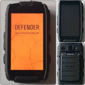Toughphone Defender Dual SIM Rugged Smartphone (Unlocked).