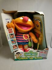 Sesame Street Check Up Ernie - Fisher Price 1999 VINTAGE toy - collectible