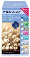 200 LED Multi Function Green Indoor & Outdoor SUPABRIGHTS Christmas Lights