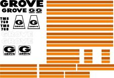 Grove, Link Belt, Terex, American, Mantis, Tadano Crane Decals