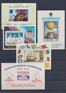 XC89359 Liberia mixed thematics sheets XXL MNH
