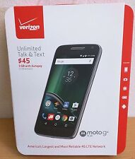 Verizon Wireless Prepaid Moto G4 Play 4G LTE 16GB Cell Phone New Sealed Retail