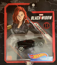 Hot Wheels 2020 Marvel Character Cars Black Widow Black Widow Gjh91