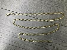 Tested 10K Yellow Gold Chain Necklace For Repair