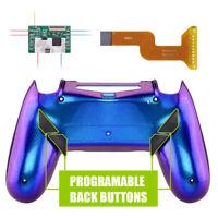Chameleon Shell Programable Remap Kit + Back Buttons for PS4 Slim Pro Controller